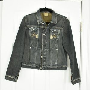 7 For All Mankind Distressed Jean Jacket